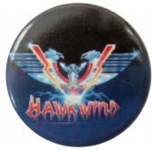 Hawkwind - 'Sonic Attack 2' Button Badge